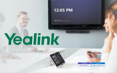 Yealink MVC Range – Teams Rooms Solutions