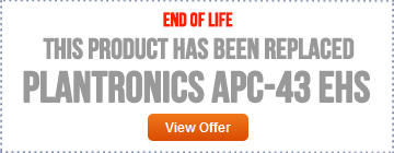 Plantronics APC-42 EOL - Replaced by APC-43