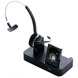 Jabra PRO 9460 Mono Multiuse Headset with Touch Screen Base - Refurbished