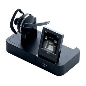 Jabra PRO 9470 Mono Midiboom Multiuse Headset with Touch Screen Base