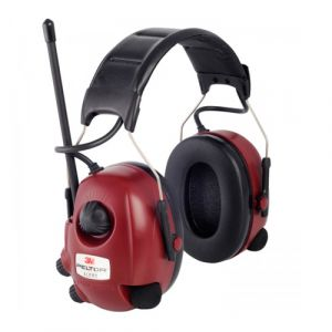 3M™ Peltor™ Workstyle Alert Active Standard Hearing Protector - Red