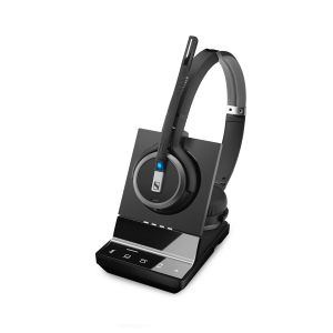 Sennheiser SDW 5065 Wireless DECT Binaural Headset - Deskphone & PC/Softphone