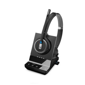 Sennheiser SDW 5066 Wireless DECT Binaural Headset - Deskphone, PC/Softphone & Mobile