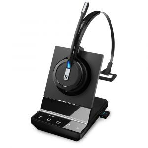 Sennheiser SDW 5016 DECT Wireless Convertible Headset - Deskphone, Softphone/PC & Mobile