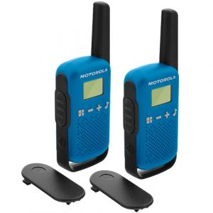 Motorola Talkabout T42 Twin Pack Licence Free - Blue
