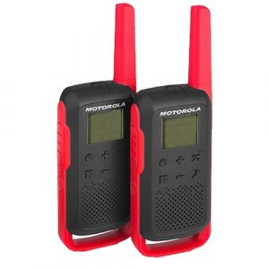 Motorola Talkabout T62 Twin Pack - Red