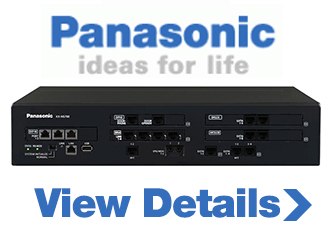 modern telephone system by Panasonic