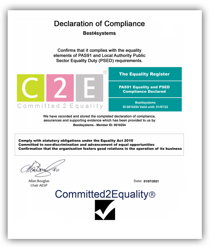 declaration of ethical compliance
