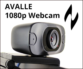 Avalle 1080 webcam